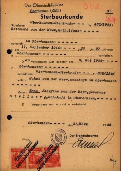 Oorlogsbronnen: Duitse akten